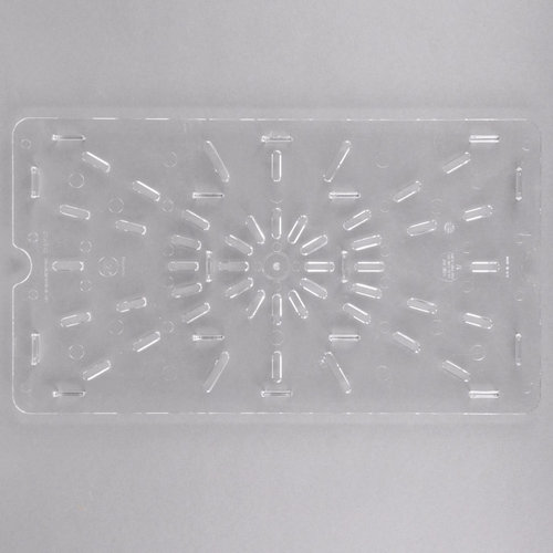 Cambro Full Size Clear Polycarbonate Drain Tray| 10CWD135 | Camwear
