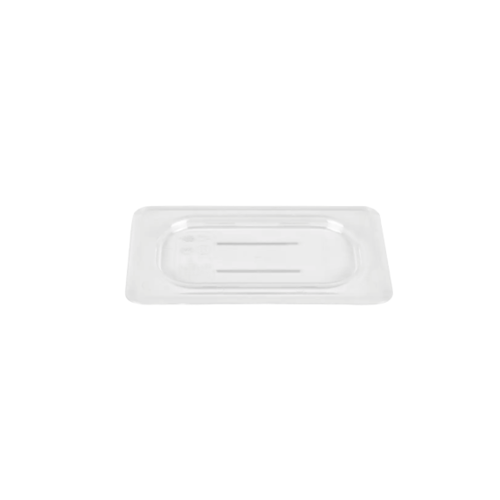 Cambro 1/9 Size Clear Polycarbonate Flat Lid | 90CWC135 | Camwear