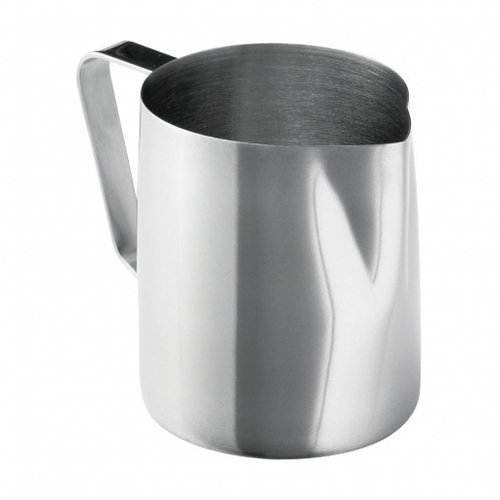 TableCraft Frothing Cup | 12-14 oz | Stainless Steel