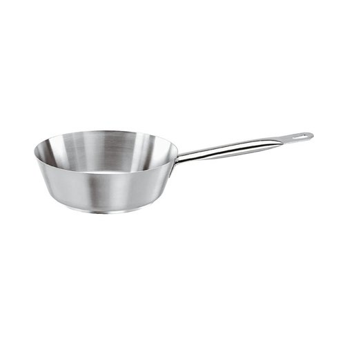 Paderno Flared Sauté Pan | Series 1000 | Stainless steel | Diffrent Sizes