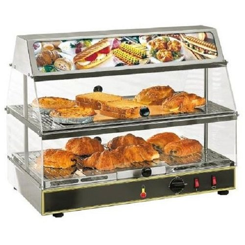 Roller Grill Warm Display - Two deck  FREE SHIPPING