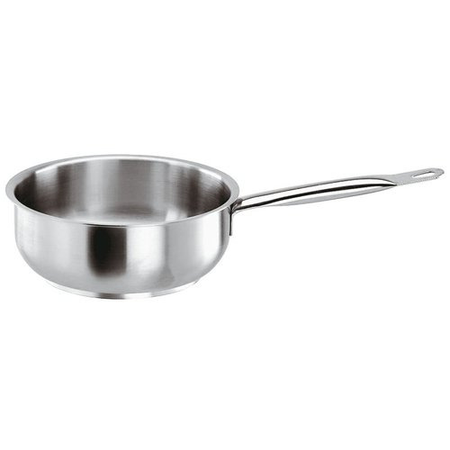 Paderno Curved Sauté Pan | Series 1000 | Stainless steel | Different Sizes