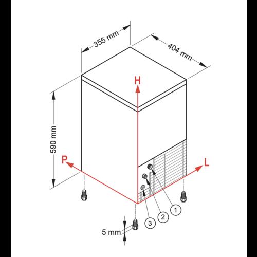 NTF Ice Cubes Maker - SL35