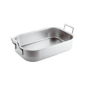 Paderno Heavy roasting pan | Stainless steel