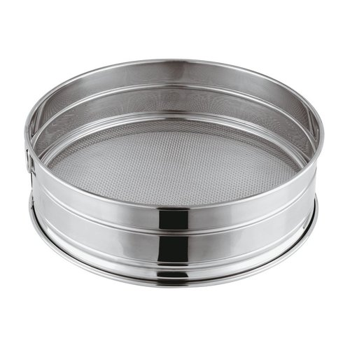 Paderno Bread Sieve | 12604 |  Stainless steel  |  h. 8,00 cm | Different Size Mesh