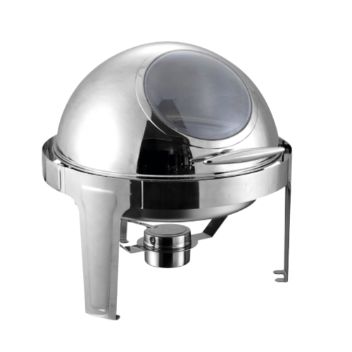 9L Oblong Roll Top Chafing Dish-visible