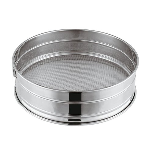 Paderno Flour Sieve | 12607 | Coarse Mesh | Stainless Steel | Different Sizes