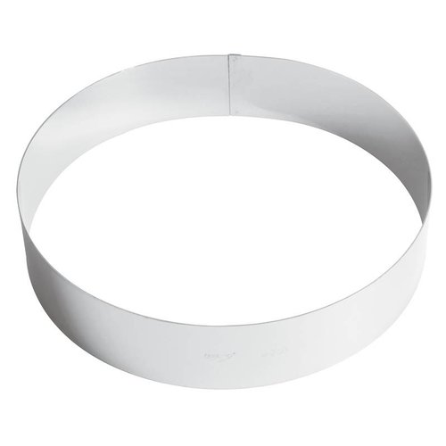 Paderno Ice Cream Cake Ring | 47534 | Stainless steel | Different Sizes