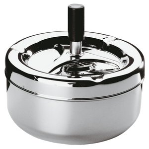 Paderno Ashtray | Chrome-Plated Steel