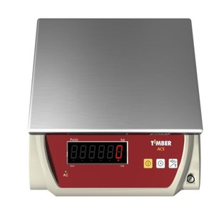 Timber Electronic Scale - 3 KG Capacity