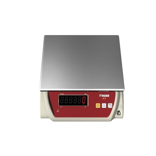 Timber Electronic Scale - 15 KG Capacity
