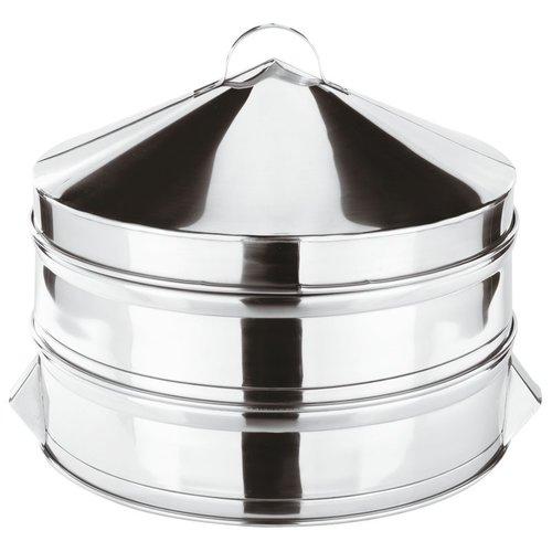 Paderno Dumpling Steamer | Base |  h. 14,00 cm | 49606-51 | Stainless steel