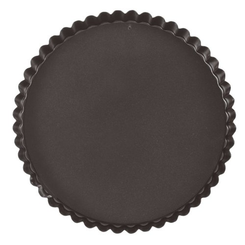 Paderno Fluted Non-stick Tart Pan | Removable Bottom | 47712 | h. 2,50 cm | Round mould | Different Sizes