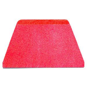 Paderno Dough Scrapers | Red