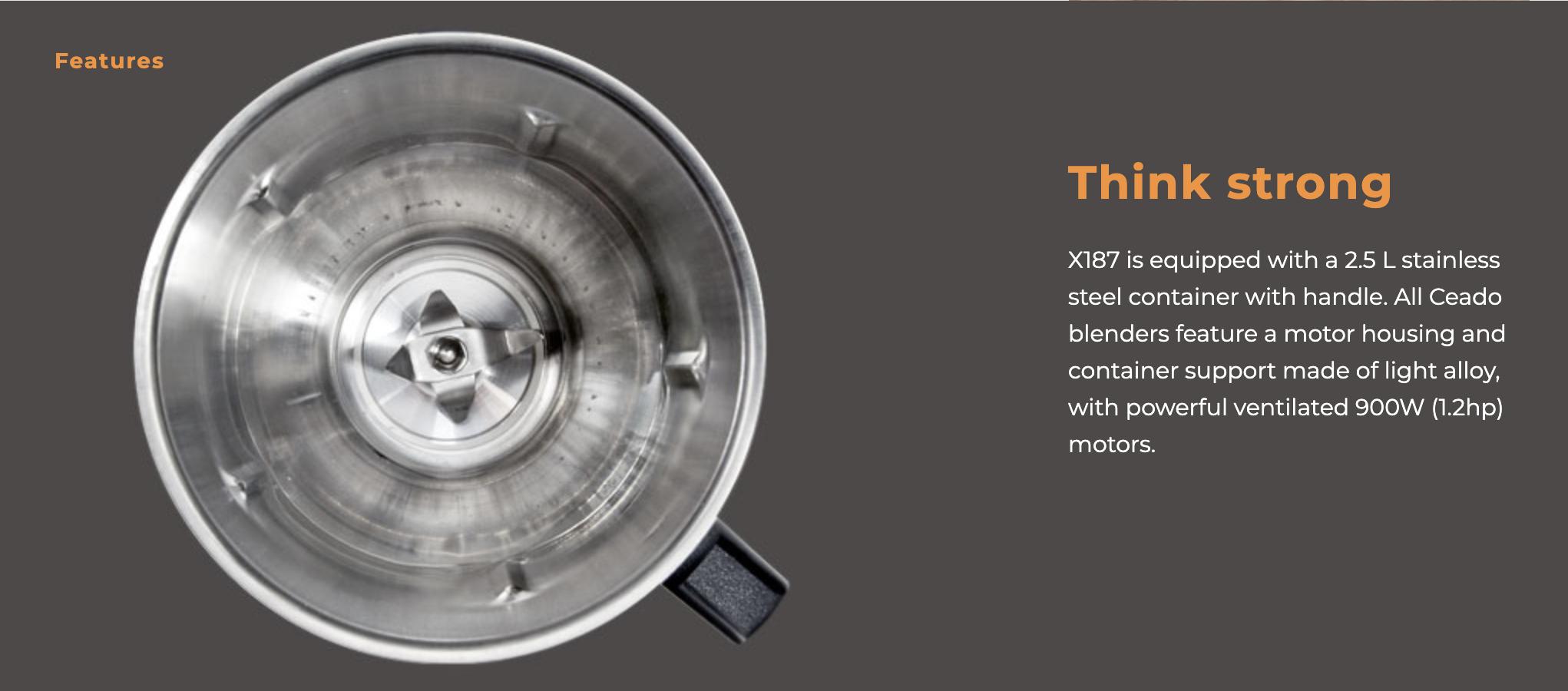 X187 Blender