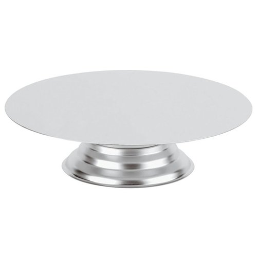 Paderno Cake Stand | ø 30,00 cm  | h. 10,00 cm | Stainless steel | 47099-30