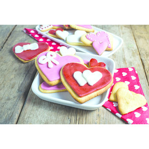 Paderno Heart Dough Cutter