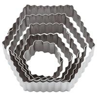 Fluted Hexagon Dough Cutter