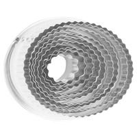 Oval Fluted Dough Cutter