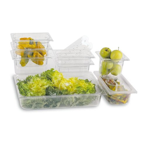 Paderno Food pan GN 1/2  | Polycarbonate | Clear | 14565 | 32,00x26,50 cm | Different Sizes