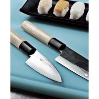 Yanagi Japanese Sushi Knife With Wooden Handle