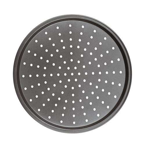 Paderno Perforated Round Baking Sheet