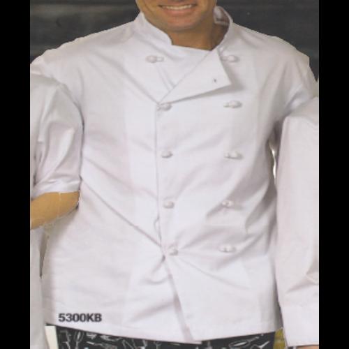 Premium Uniforms Econo Chef Coats | Knot Buttons| 5300KB