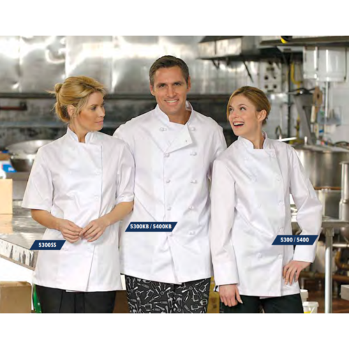 Premium Uniforms Econo Chef Coats | Plastic Buttons | 5300