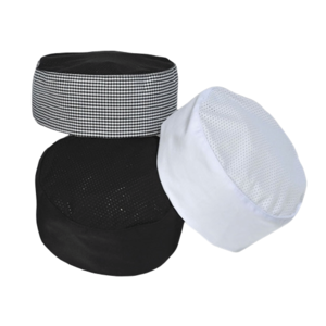 Premium Uniforms Pill Box Cap With Mesh Top