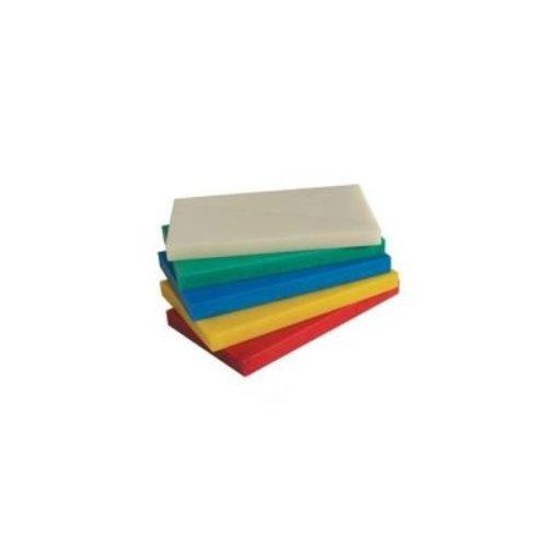 Türkay 6-Board Color-Coded Cutting Board | Polyethylene | 46 X 31 X 1.3 CM SET
