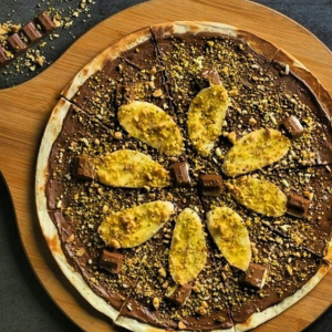 Eco-pebble Thick Round Board Pizza/Cheese