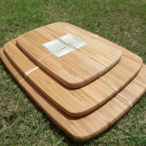 Eco-pebble Large Wooden Cutting Board | 37.5*27.5*1.5 Cm | ECO-2-2