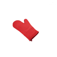 Red Silicone Oven Mitt