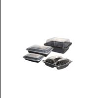 Rectangular Black Base Container