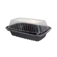 Deep Container with Clear Lid