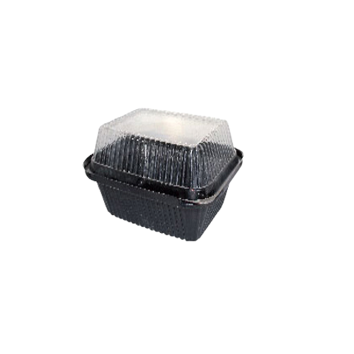Square Container with Clear Lid