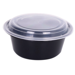Round Container with Lid