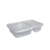 Rectangular Clear Container with Lid