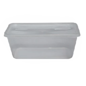 Microwave Rectangular Container with Lid