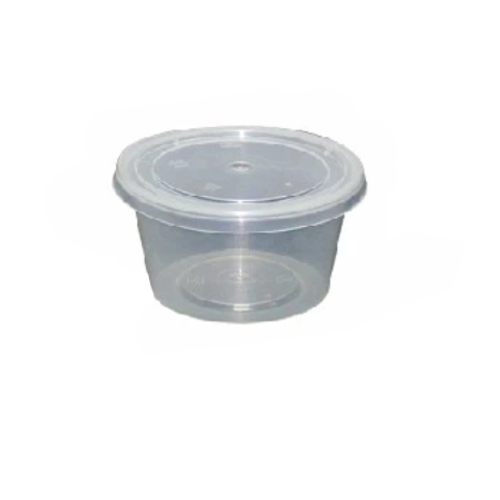 Microwave Round Container with Lid