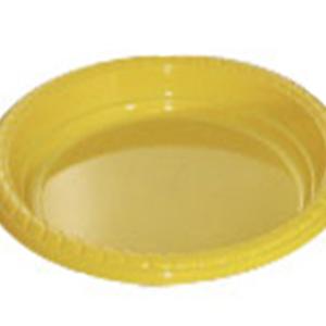 Yellow Plastic Plate