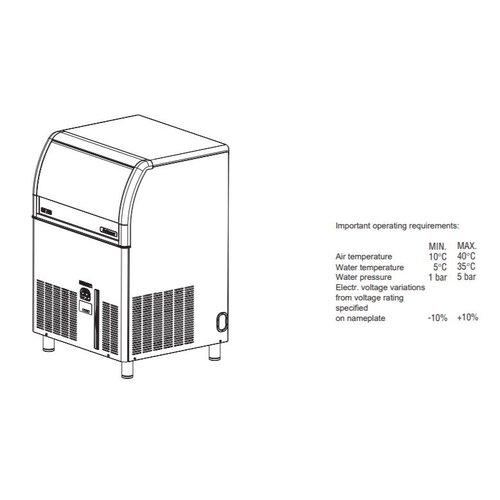 Scotsman Gourmet  Ice Maker EC 176 | FREE SHIPPING