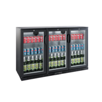 Under Counter Bar Cooler Chiller Black | FREE SHIPPING