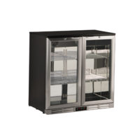 Under Counter Chiller Black | FREE SHIPPING
