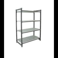 4-Shelf Stationary Starter Unit | Different Sizes