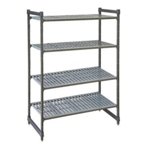 Cambro Basics Plus Vented 4-Shelf Stationary Starter Unit | Different Sizes