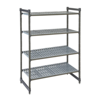 Basics Plus Vented 4-Shelf Stationary Starter Unit | Different Sizes