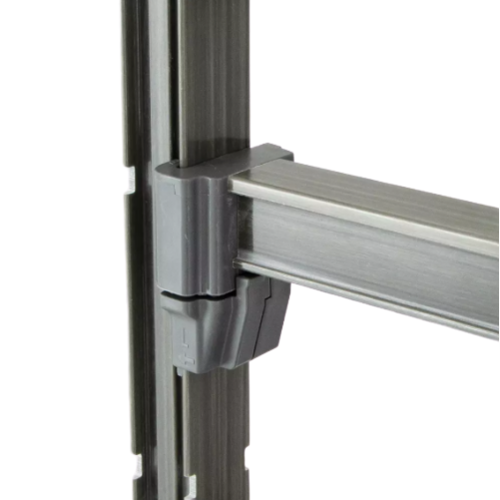 "Cambro Basics Plus Vented 4-Shelf Stationary Starter Unit | Camshelving® | 24"" x 72""  | Different Sizes"