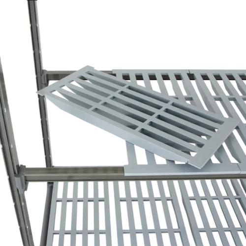 "Cambro Basics Plus Vented 4-Shelf Stationary Starter Unit | Camshelving® | 21"" x 72""  | Different Sizes"