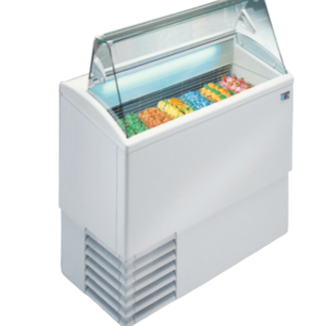 ISA Ice cream display chiller Flat Glass | FREE SHIPPING